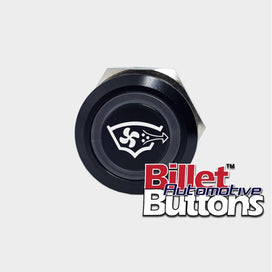 22mm 'BILGE BLOWER SYMBOL' Billet Push Button Switch Marine