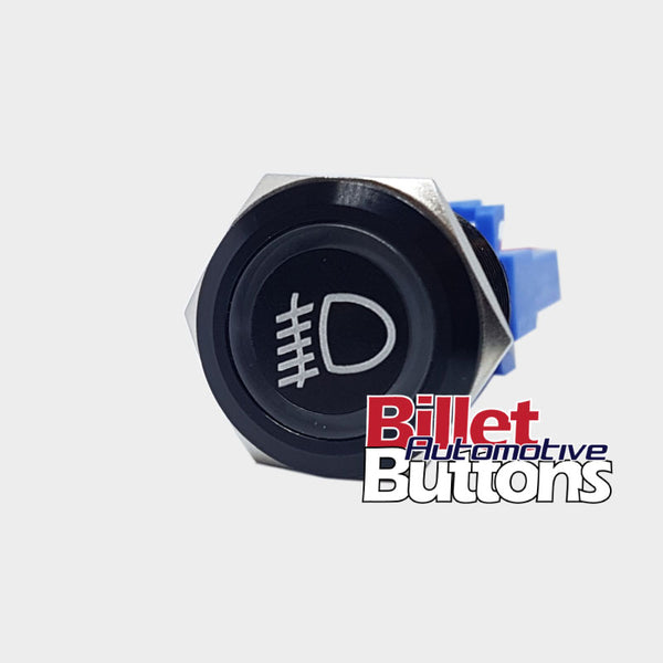 22mm 'FOG LIGHTS SYMBOL' Billet Push Button Switch Driving Light