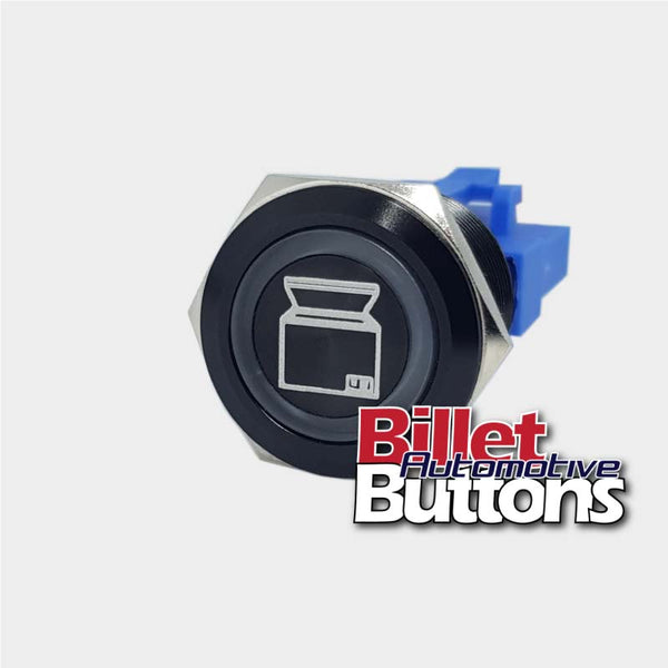 22mm 'FRIDGE SYMBOL' Billet Push Button Switch Cooler Esky