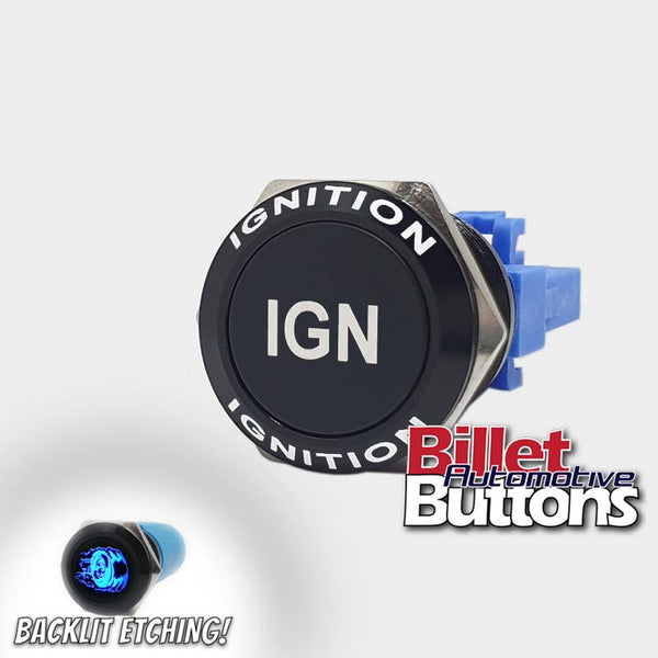 22mm FEATURED 'IGN' Billet Push Button Switch Ignition