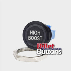 28mm 'HIGH BOOST' Billet Push Button Switch Turbo Boost Controller Solenoid