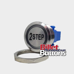 28mm '2 STEP' Billet Push Button Switch Launch Control 2step etc