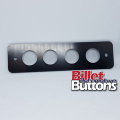 Billet Button 4 hole laser cut panel