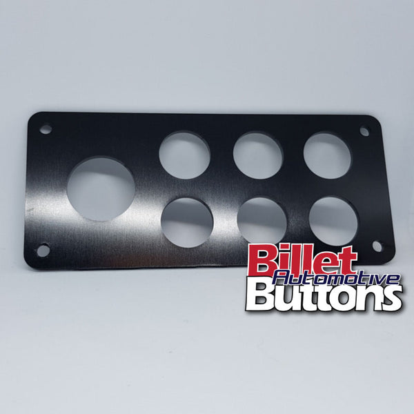 Billet Button 7 hole laser cut panel