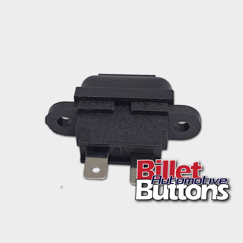 Fuse Holder Panel Chassis Mount Blade 30A 15ABillet Automotive Buttons