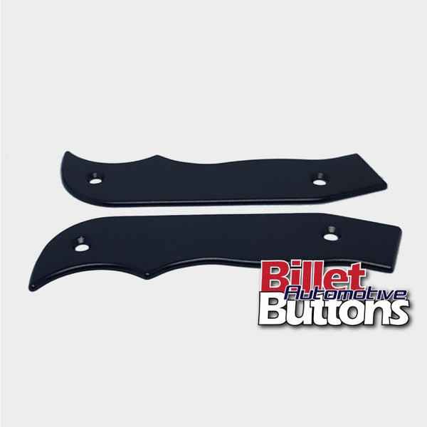 Single/Dual Button Pistol Grip Shifter Plates To Suit B&M TCI Style Magnum Outlaw Grip Shifters