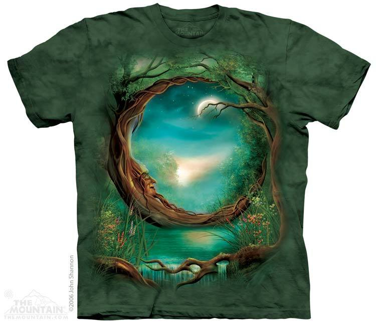 Moon Tree - T-Shirt - Moonstoneartwear