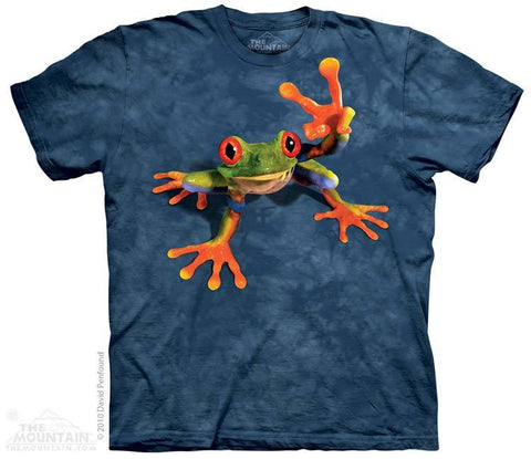 Victory Frog - T-Shirt - Moonstoneartwear