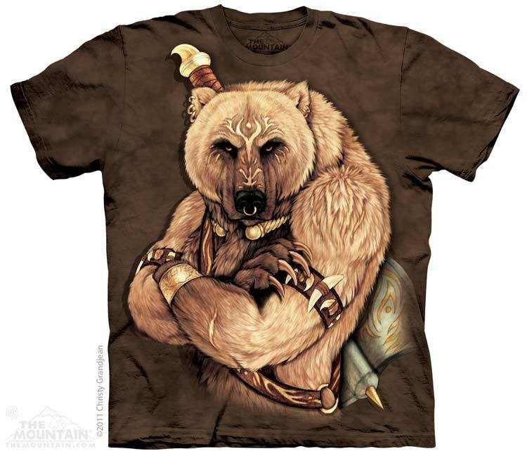 Tribal Bear - T-Shirt - Moonstoneartwear