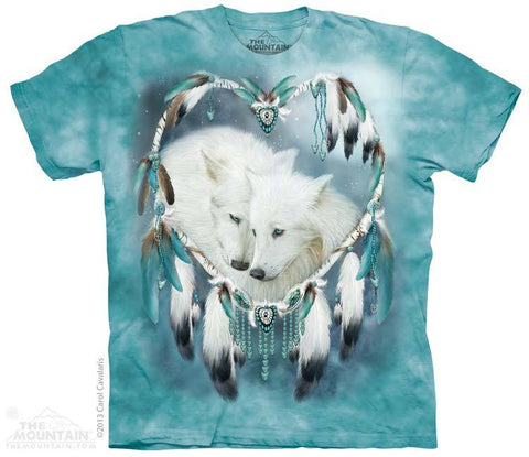 Wolf Heart - T-Shirt - Moonstoneartwear