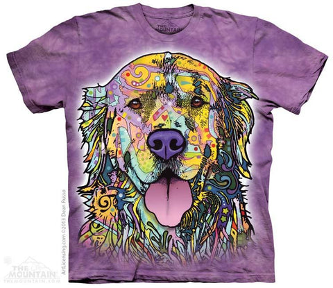 Russo Golden Retriever - T-Shirt - Moonstoneartwear
