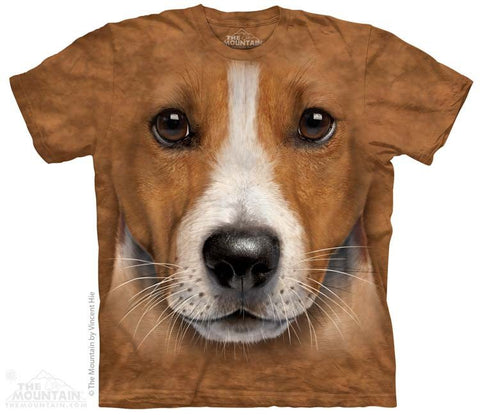 Big Face Jack Russell Terrier - T-Shirt - Moonstoneartwear