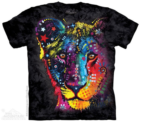 Russo Lion - T-Shirt - Moonstoneartwear