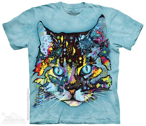 Hypno Cat - T-Shirt - Moonstoneartwear