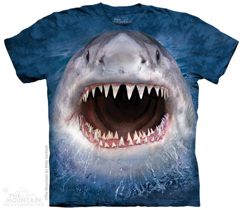 Wicked Nasty Shark - T-Shirt - Moonstoneartwear