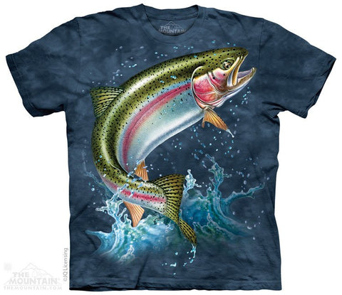 Rainbow Trout - T-Shirt - Moonstoneartwear