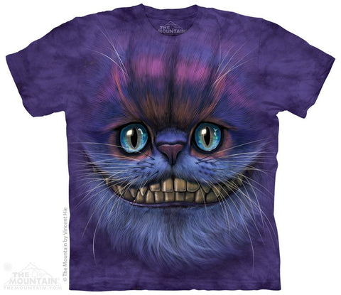 Big Face Cheshire Cat - T-Shirt - Moonstoneartwear
