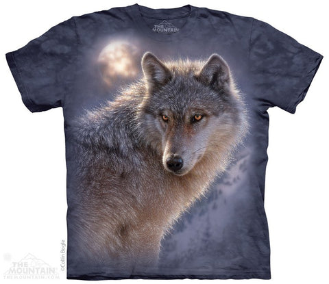Adventure Wolf - T-Shirt - Moonstoneartwear