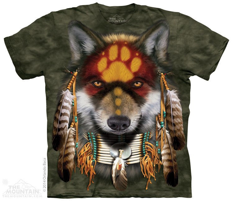Native Wolf Spirt - T-Shirt