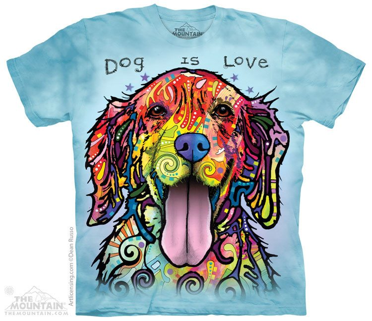 Dog Is Love - T-Shirt - Moonstoneartwear