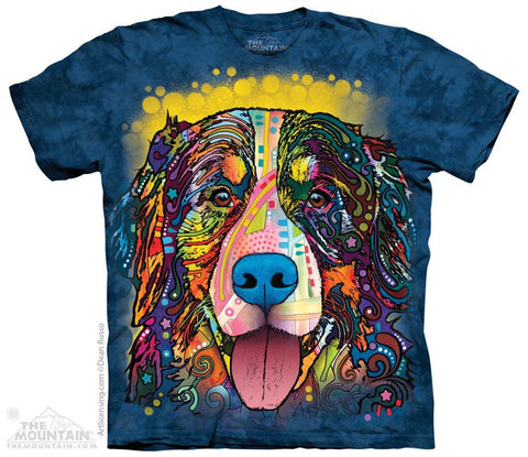 Russo Bernese Mountain Dog - T-Shirt - Moonstoneartwear