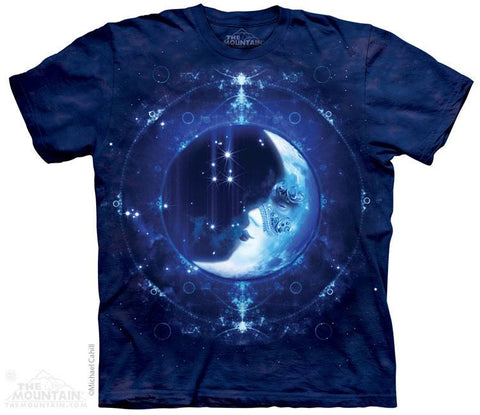 Moon Face - T-Shirt - Moonstoneartwear