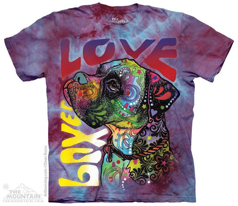 Boxer Luv - T-Shirt - Moonstoneartwear