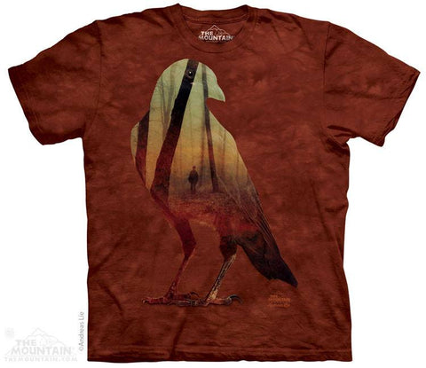 Crow Woods - T-Shirt - Moonstoneartwear