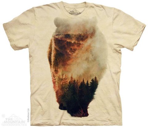 Approaching Bear - T-Shirt - Moonstoneartwear