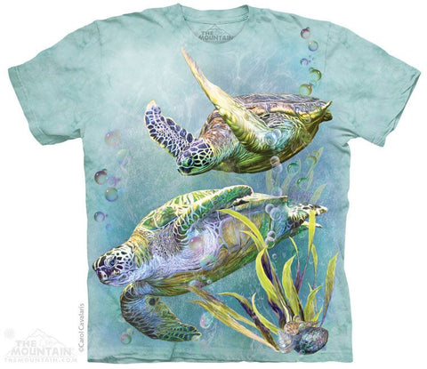 Sea Turtles Swim - T-Shirt - Moonstoneartwear
