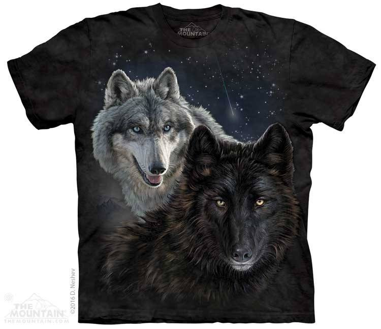 Star Wolves - T-Shirt - Moonstoneartwear