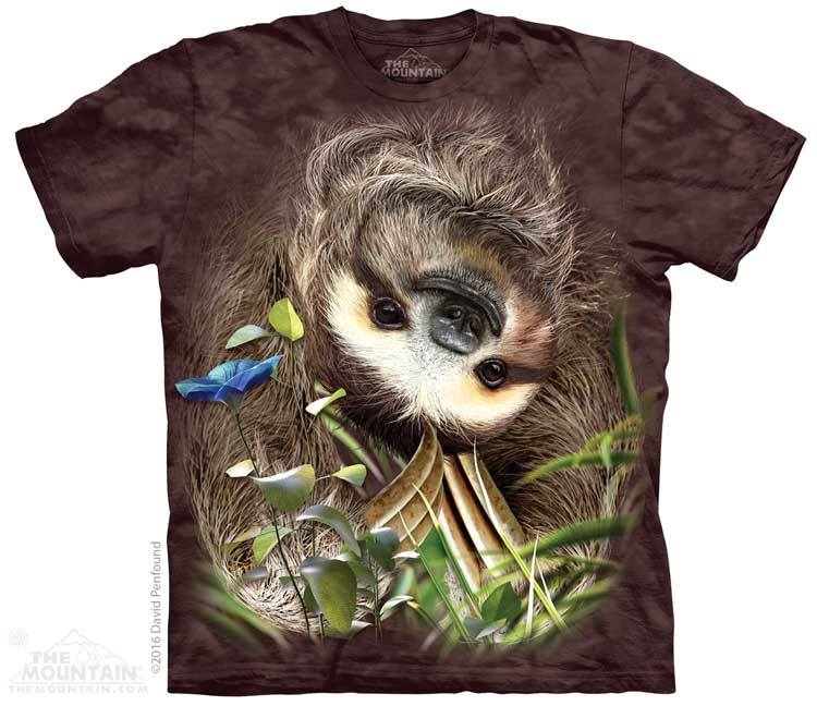 Sloth - T-Shirt - Moonstoneartwear