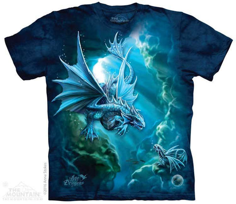 Sea Dragon - T-Shirt - Moonstoneartwear