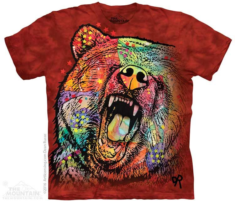 Russo Grizzly - T-Shirt - Moonstoneartwear