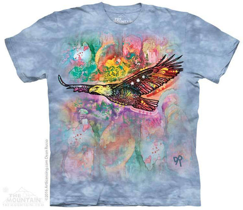 Russo Eagle - T-Shirt - Moonstoneartwear