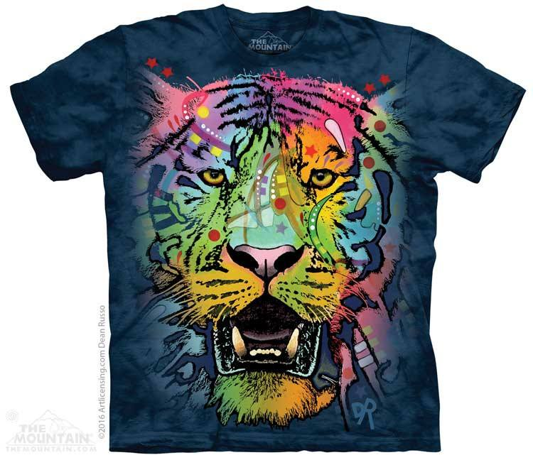 Russo Tiger Face - T-Shirt - Moonstoneartwear