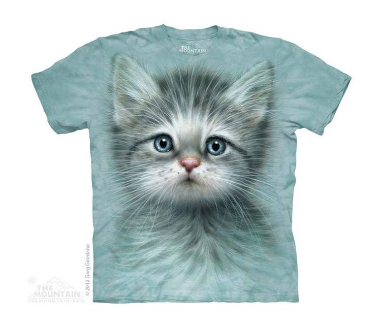 Blue Eyed Kitten - Youth - Moonstoneartwear