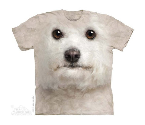 Bichon Frise Face - Youth - Moonstoneartwear