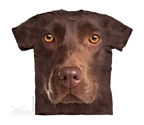 Chocolate Lab Face - Youth - Moonstoneartwear