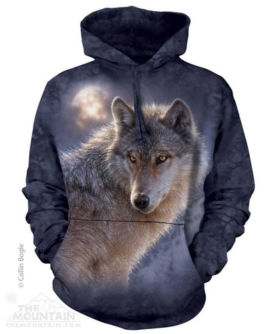 Adventure Wolf - Hoodies - Moonstoneartwear