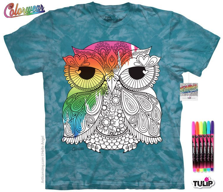 Colorwear-Owl 1 - Moonstoneartwear