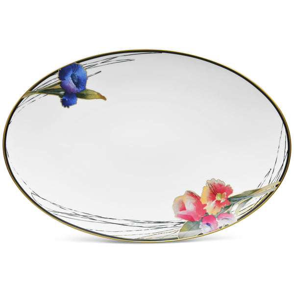 Alluring Fields 1664 Oval Platter Large