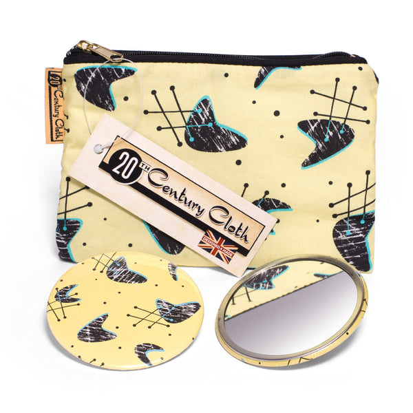Atomic Blonde pocket mirror