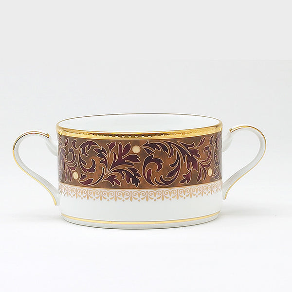 Xavier Gold 4819 Cream Soup Cup w/Handles