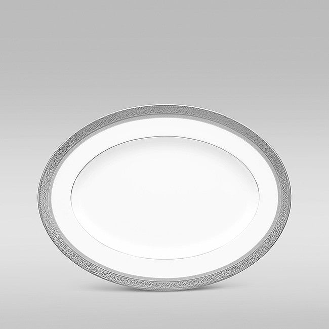 Summit Platinum 4919 Oval Platter Small 31cm