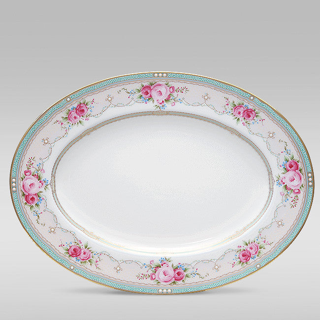 Palace Rose 4863 Oval Platter Small 31cm