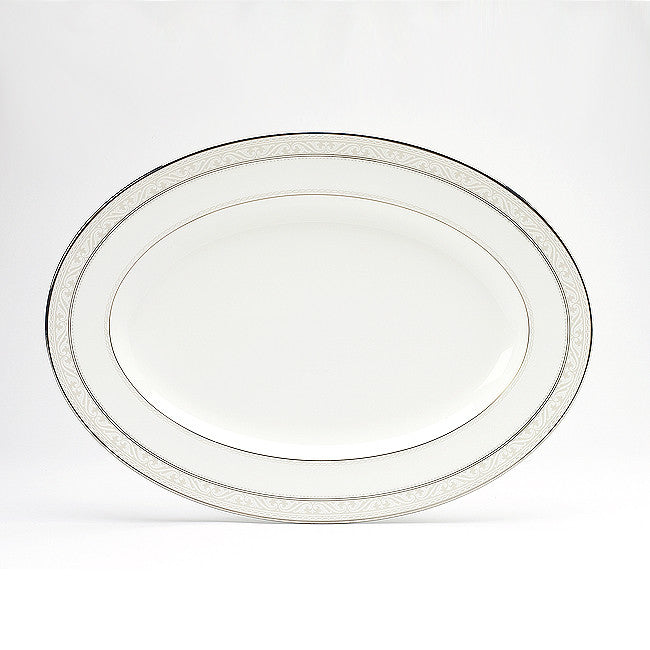 Montvale Platinum 4807 Oval Platter Medium