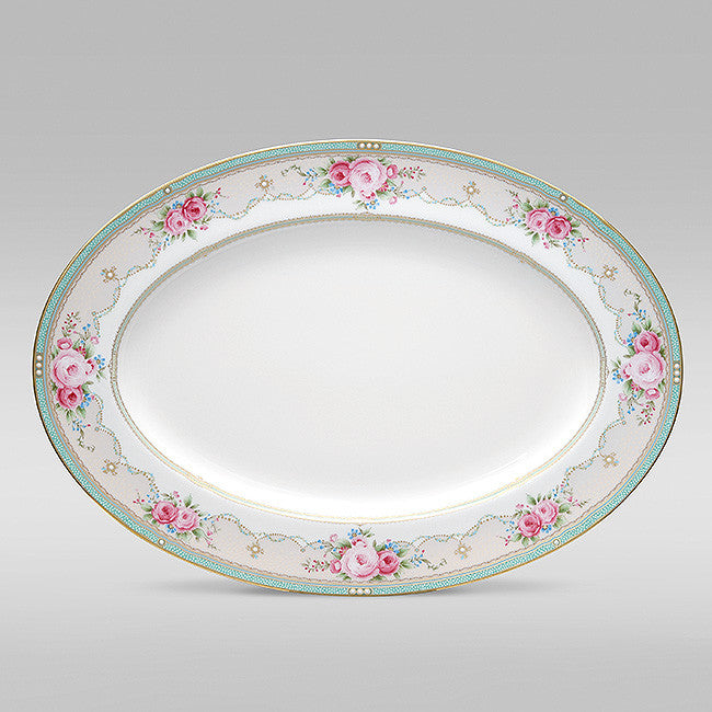 Palace Rose 4863 Oval Platter Large 41cm