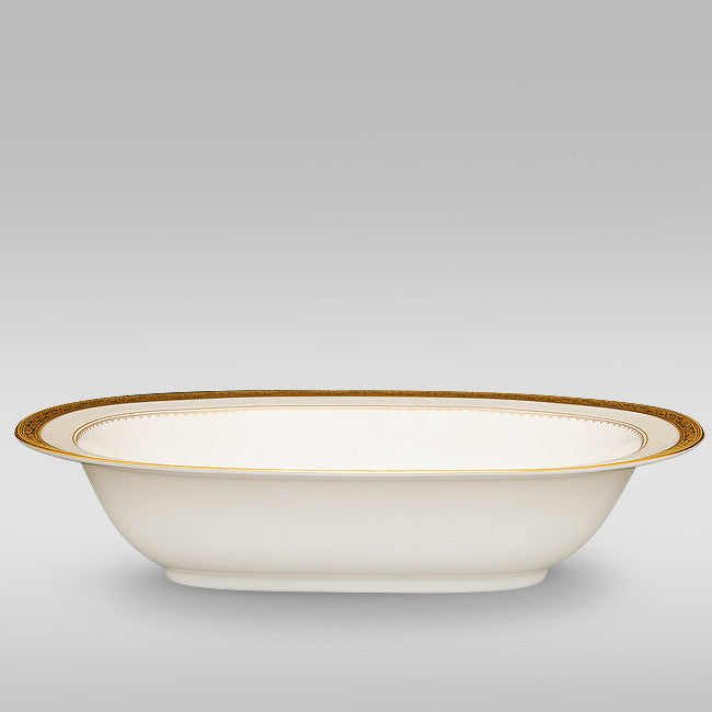 Odessa Gold 4874 Oval Serving Bowl 26.7 cm