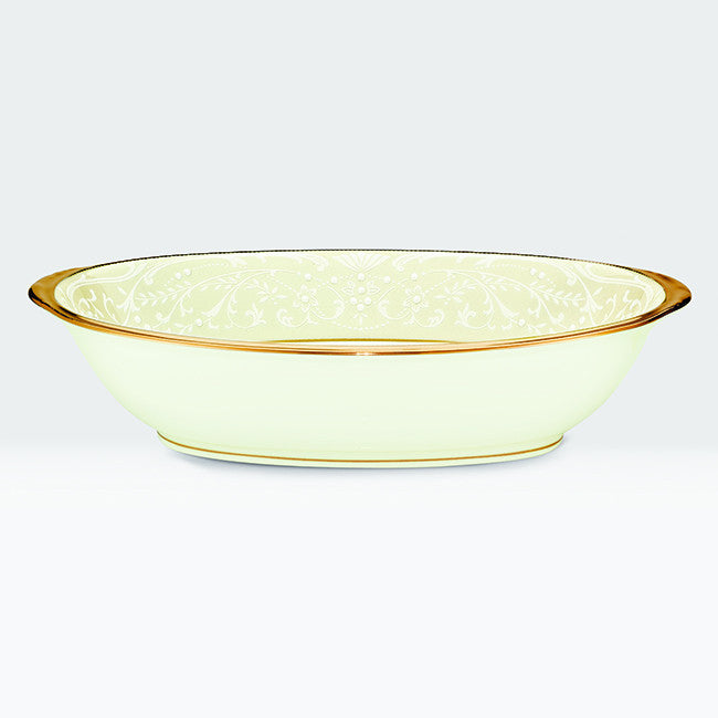 White Palace 4753 Oval Serving Bowl 26cm
